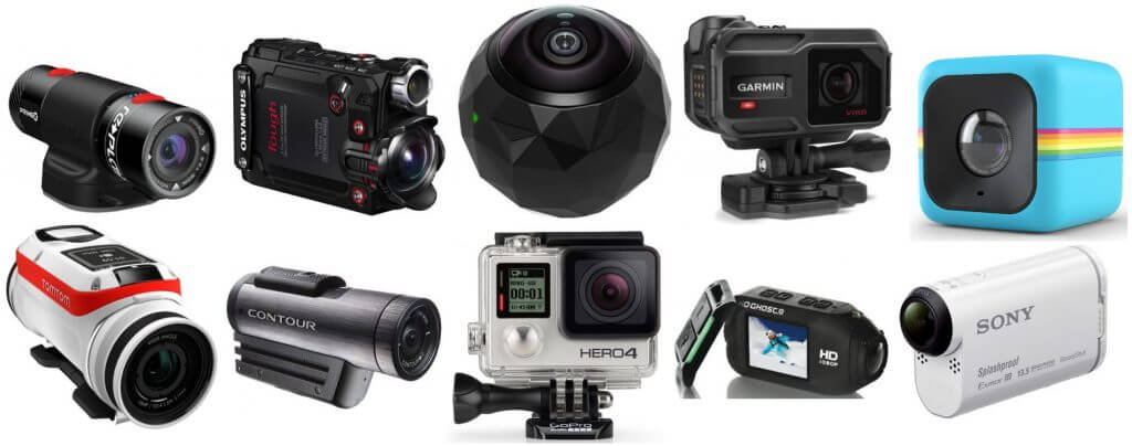 different kinds of video cameras | Action Video Cameras