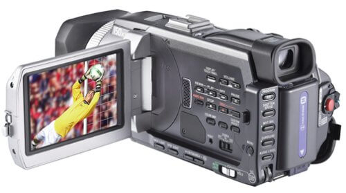 Digital Camcorder - all types of video cameras