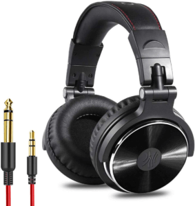 OneOdio Adapter Stereo Monitor Headphones - best recording headphones under 100 1