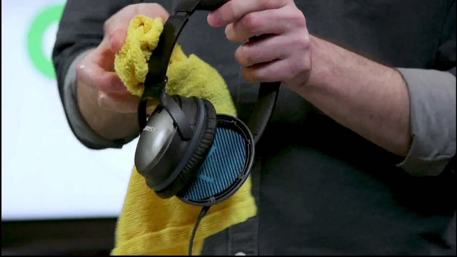 Weekly Cleanings headphones