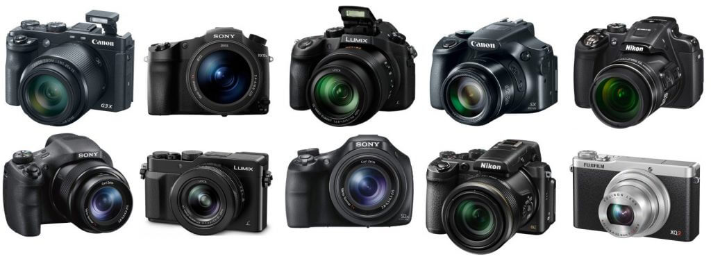 types of video cameras