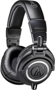 Audio-Technica ATH-M50x - best headphones for editing